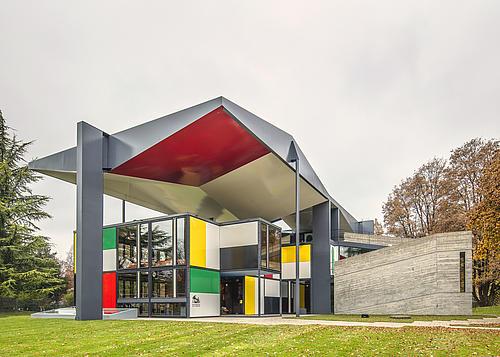 Der Pavillon Le Corbusier in Zürich. © Archäologie und Denkmalpflege Kanton Zürich