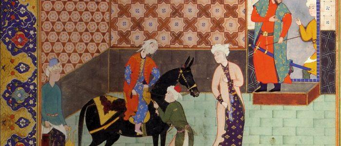 Collection of Nezami's Panj Ganj