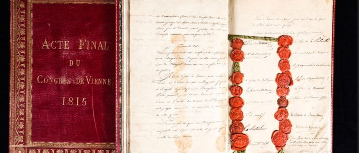 Final document of the Congress of Vienna