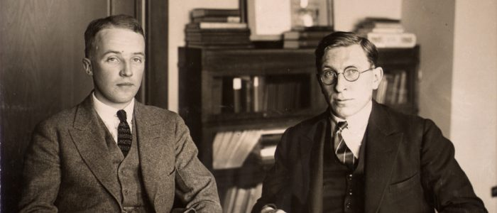 The Discovery of Insulin and its Worldwide Impact. Photograph of Charles Herbert Best and Frederick Grant Banting, ca. 1924